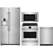 Frigidaire Professional Series 4 Piece Kitchen Appliances Package FRRERADWMW4202