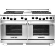 American Range Performer Series 60 Inch Freestanding Professional Gas Range ARROB660X2GRN