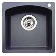 Blanco Diamond 15 Inch Drop-in/Undermount Single Bowl Granite Bar Sink 440204