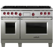 Wolf 48 Inch Pro-Style Dual-Fuel Range DF486C