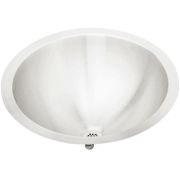 Elkay Asana Collection 18 Inch Top Mount Round Bowl Stainless Steel Lavatory Sink RLLVR16