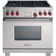 Wolf 36 Inch Pro-Style Dual-Fuel Range DF366LP