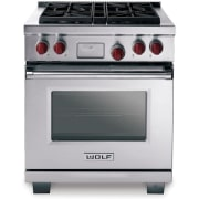 Wolf 30 Inch Pro-Style Dual-Fuel Range DF304