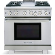 American Range Cuisine Series 36 Inch Freestanding Professional Gas Range ARR436GDN