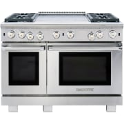 American Range Cuisine Series 48 Inch Freestanding Professional Gas Range ARR4482GDL