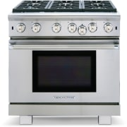 American Range Cuisine Series 36 Inch Freestanding Professional Gas Range ARR636L