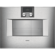 Gaggenau 400 Series 24 Inch Single Combi-Steam Smart Electric Wall Oven BS471612