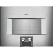 Gaggenau 400 Series 24 Inch Single Combi-Steam Smart Electric Wall Oven BS474612