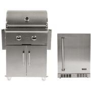 Coyote C-Series 28 Inch Freestanding Liquid Propane Grill Cart COYFSOP102
