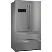 Smeg Classic Design 36 Inch 4-Door Counter Depth French Door Refrigerator FQ50UFXE