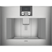 Gaggenau 400 Series 24 Inch Fully Automatic Stainless Steel Built-In Coffee Machine CM450710