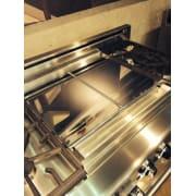 American Range 22 Inch Mirror Chrome Finish Griddle Plate MC22SPM