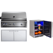 Lynx Professional Grill Series 42 Inch Built-in Natural Gas Grill LYNXOP202