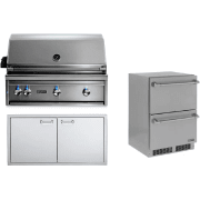 Lynx Professional Grill Series 36 Inch Built in Natural Gas Grill LYNXOP209