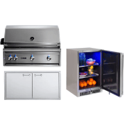 Lynx Professional Grill Series 36 Inch Built in Natural Gas Grill LYNXOP210