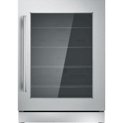 Thermador Freedom Collection Masterpiece Deluxe Series 24-Inch Under-Counter Refrigerator T24UR910RS