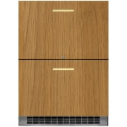 Marvel Professional Series 24 Inch Built-In Panel Ready Refrigerator Drawers MP24RDP3NP