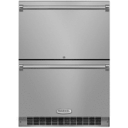 Marvel Professional Series 24 Inch Built-In Refrigerator Drawers MP24RDS3NS