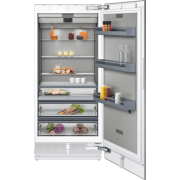 Gaggenau 400 Series 36 Inch Panel Ready Built-In Full/All Smart Refrigerator Column RC492704