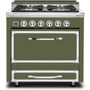 Viking Tuscany Series 36 Inch Freestanding Gas Range TVDR3614BCY