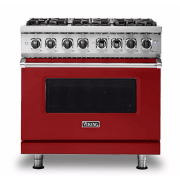 Viking 5 Series 36 Inch Freestanding Dual Fuel Range VDR5366BAR