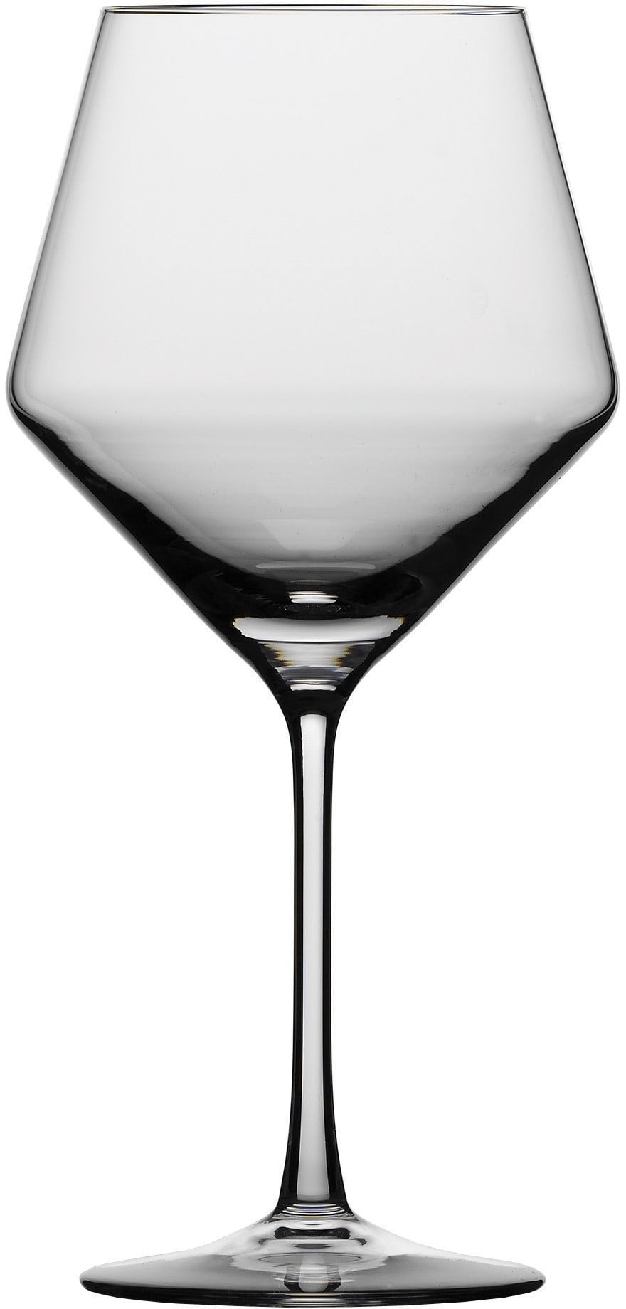 71b11fe56567 Schott Zwiesel 0026112421 Pure 6-Piece Burgundy Wine Glass Set with ...