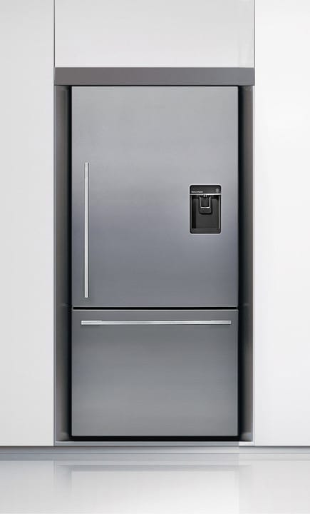 Fisher & Paykel E522BRWFD5 31 Inch Counter Depth Bottom-Freezer Refrigerator with 17.6 cu. ft ...