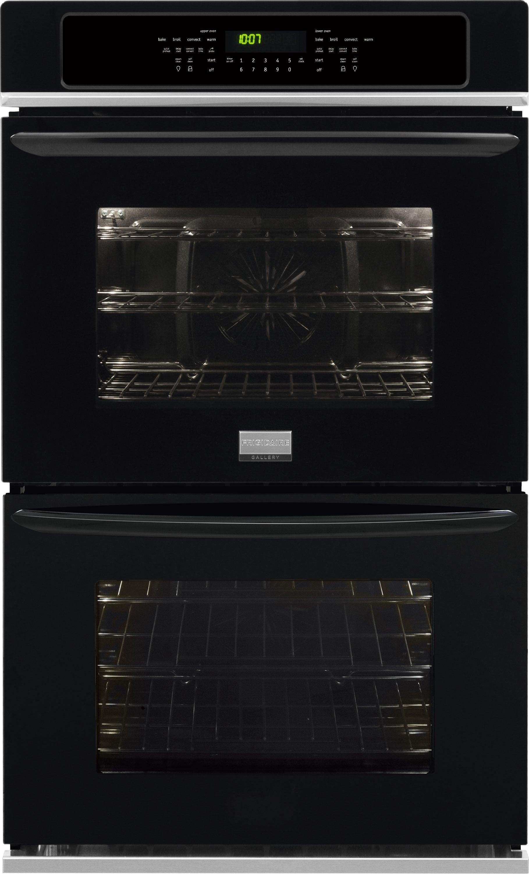 Frigidaire FGET3065PB 30 Inch Double Electric Wall Oven with Effortless™  Temp Probe, Smudge-Proof™, Express-Select® Controls, Keep Warm Setting, ...