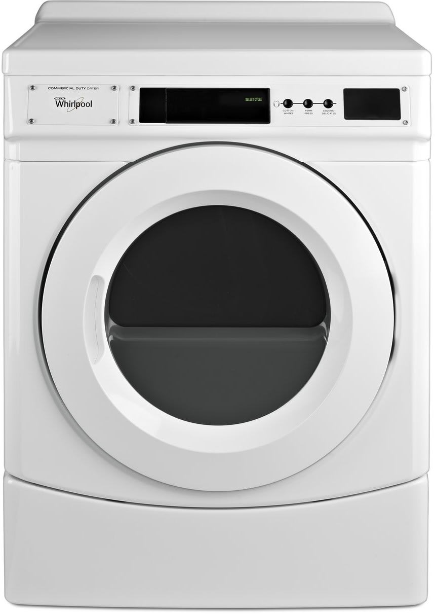Whirlpool Chw9160gw 27 Inch Front Load Commercial Washer