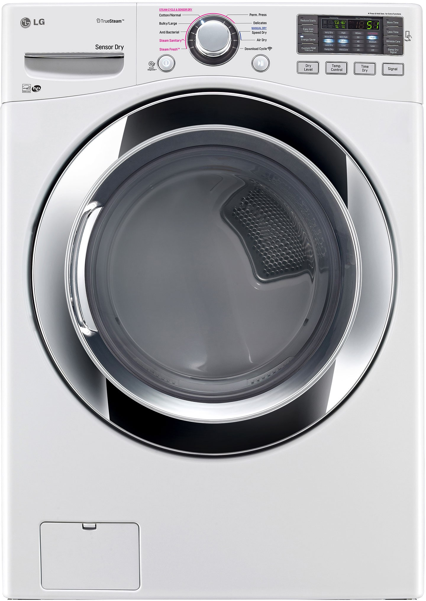 Lg Wm3370hwa 27 Inch 4 3 Cu Ft Front Load Washer With 7