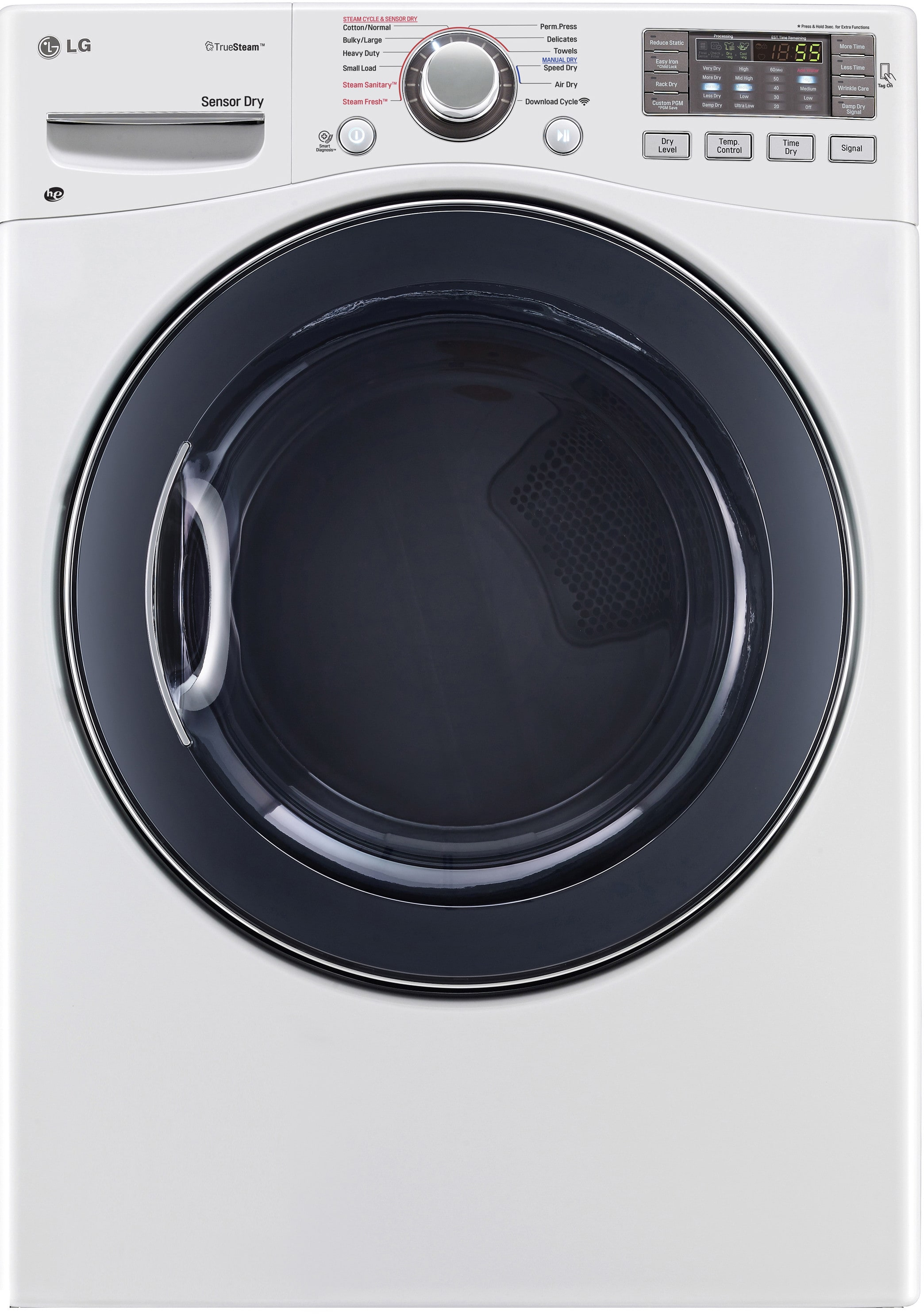 Lg Wm3470hwa 27 Inch 4 0 Cu Ft Front Load Washer With 12