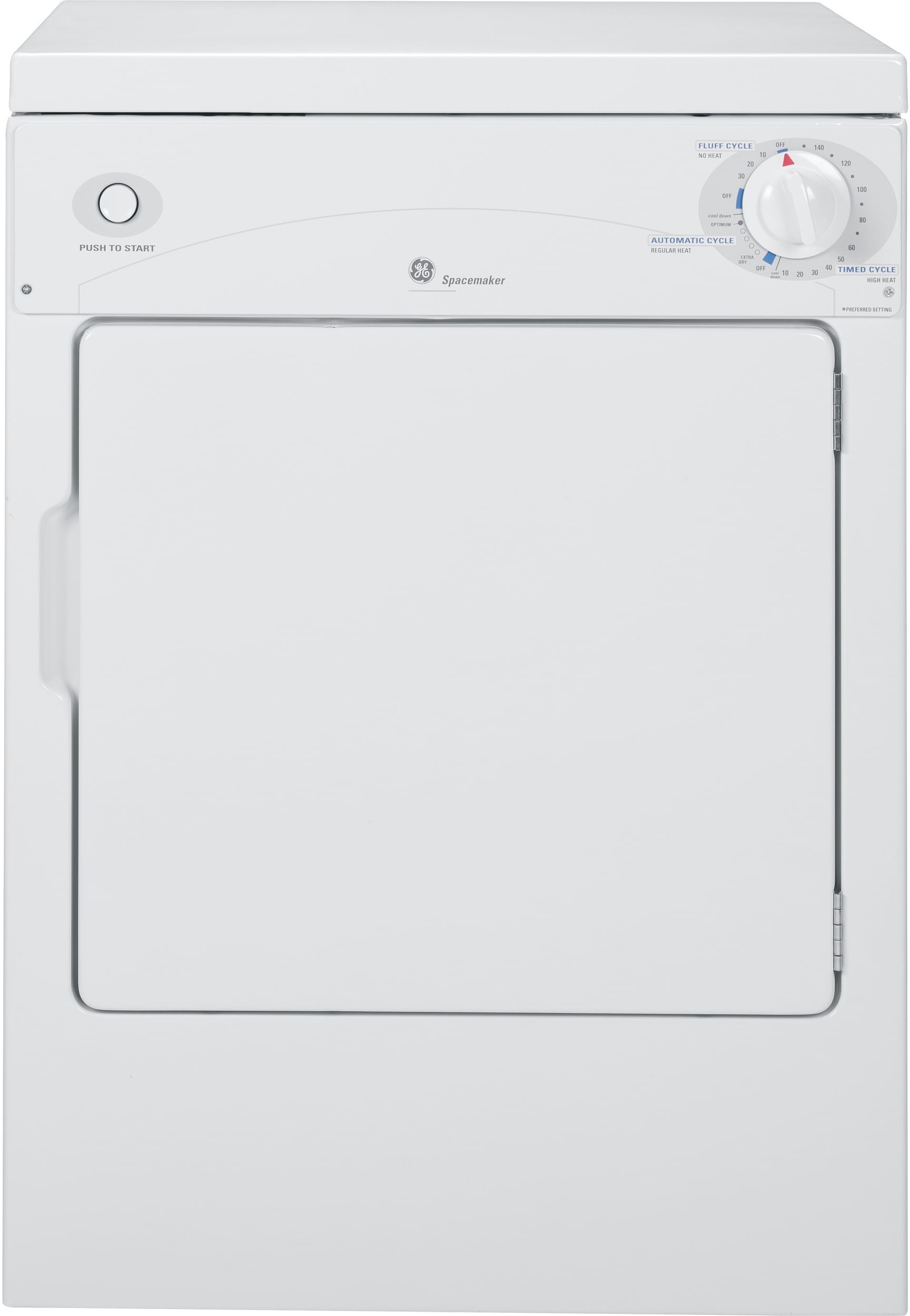 GE WSLP1100DWW 24 Inch Portable Washer with 2 5 Cu  Ft  Capacity, 10