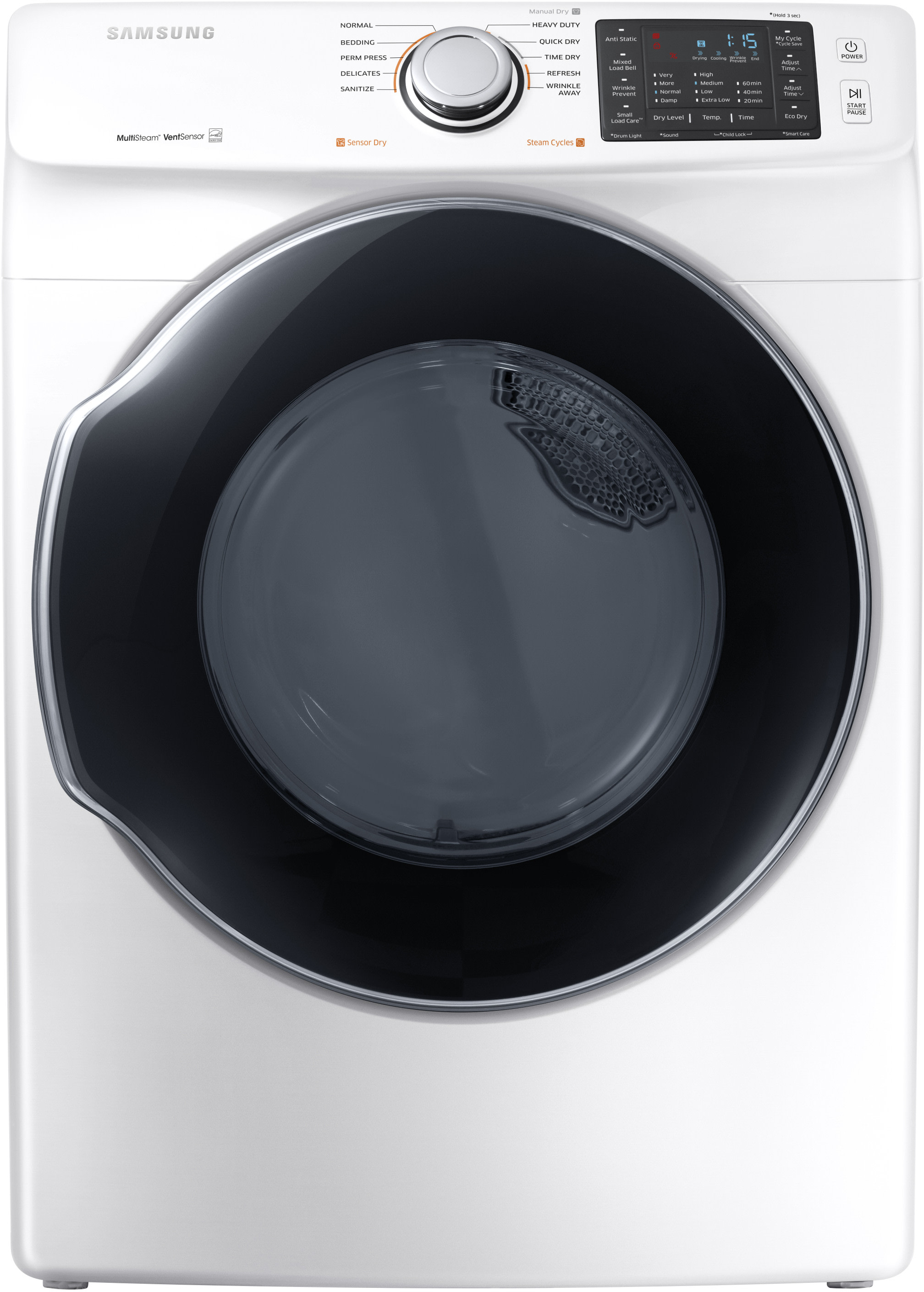 samsung wf45m5500aw 27 inch front load washer with steam self clean cycle smart care 10 wash. Black Bedroom Furniture Sets. Home Design Ideas