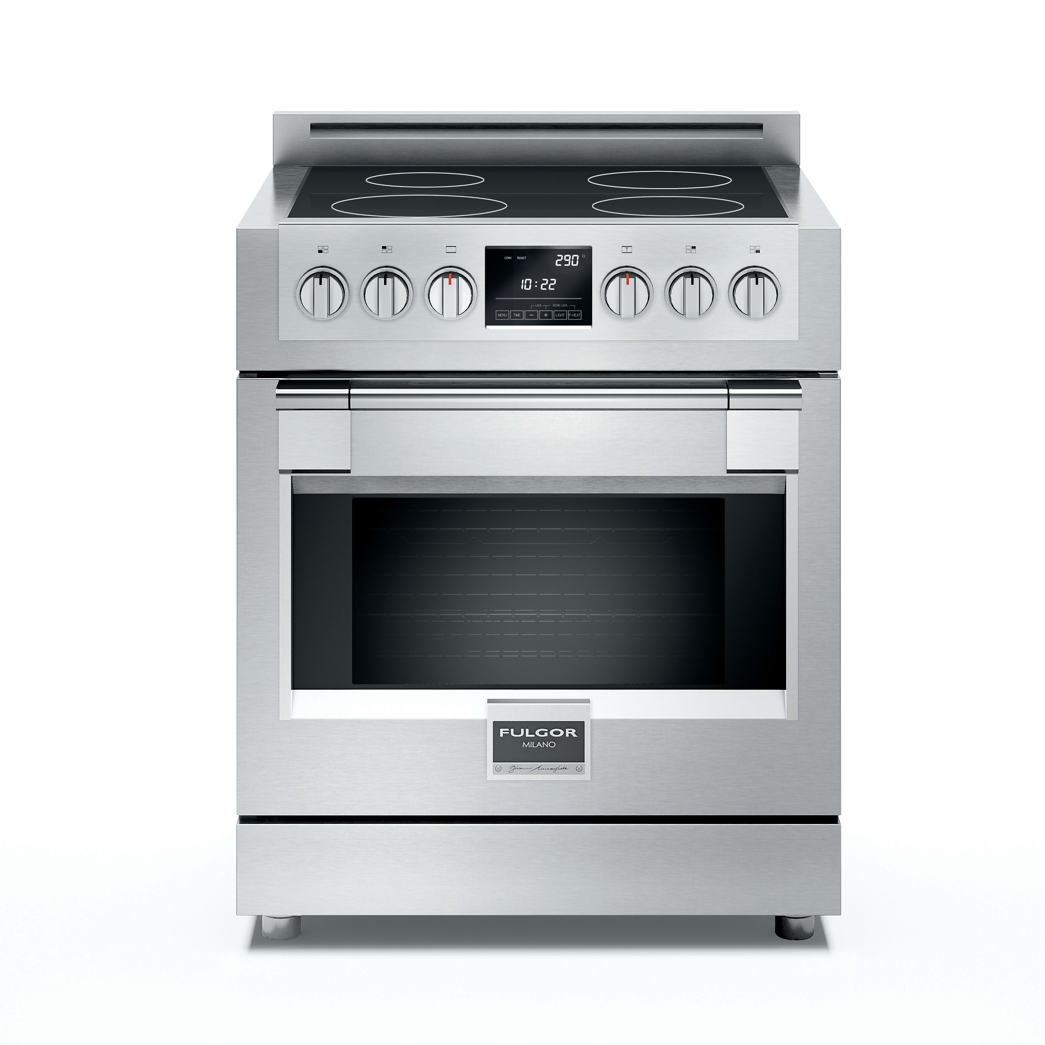 Fulgor Milano Sofia Series F6pir304s1 30 Freestanding Induction Range With 4 Cooking Zone