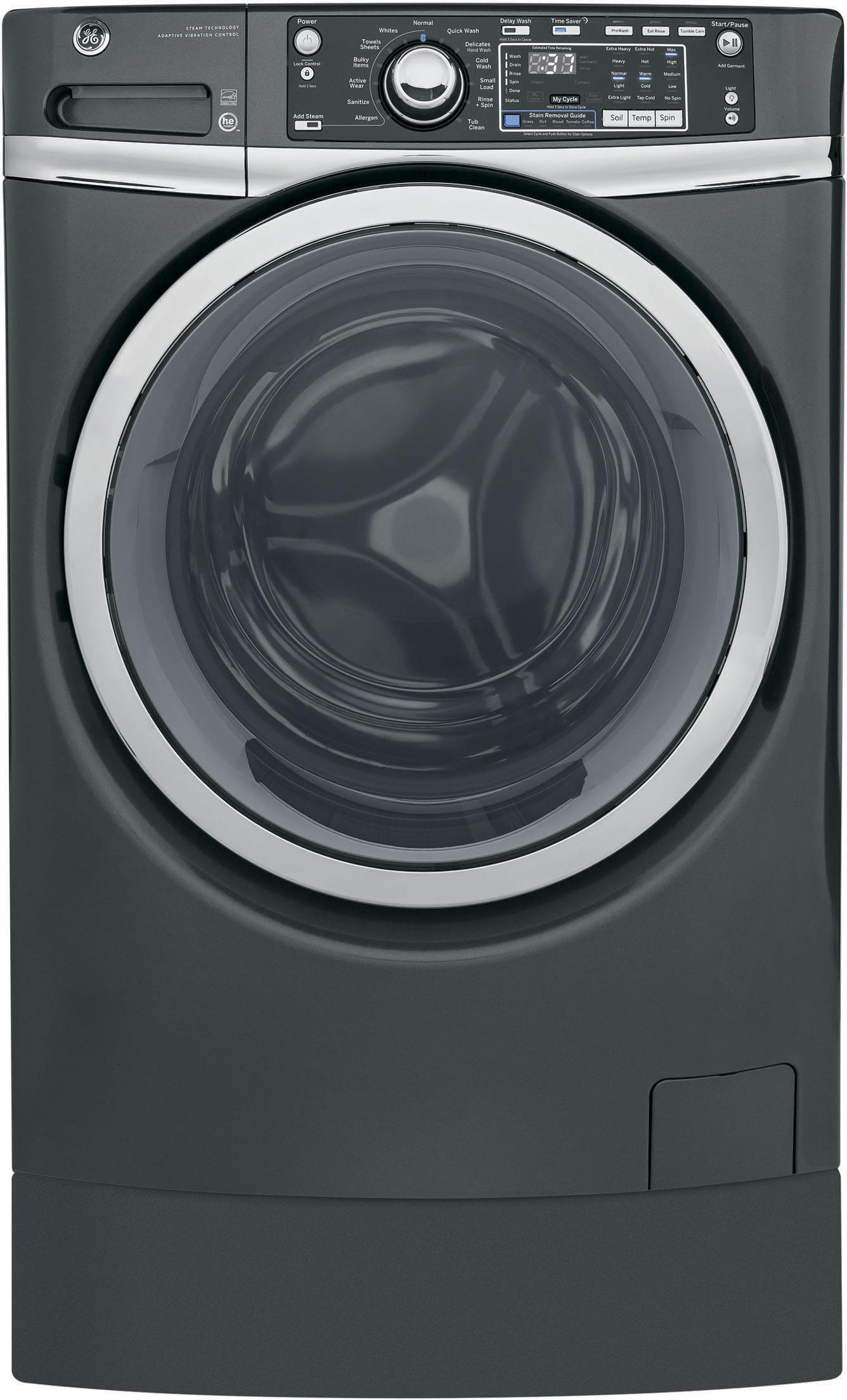 Ge Gfdr480efww 28 Inch 8 3 Cu Ft Electric Dryer With 12