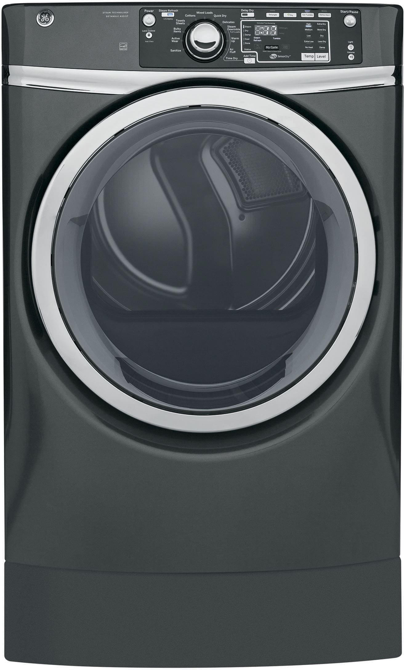 Ge Gfwr4805fmc 28 Inch 4 8 Cu Ft Front Load Washer With
