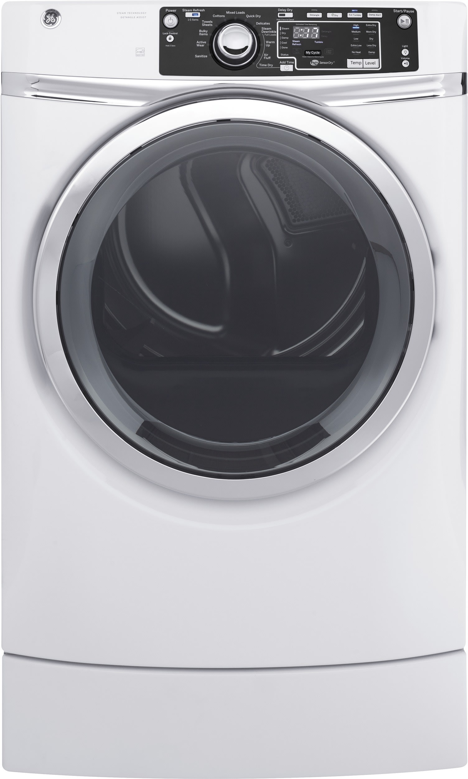 Ge Gfwr2700hww 28 Inch 4 5 Cu Ft Front Load Washer With