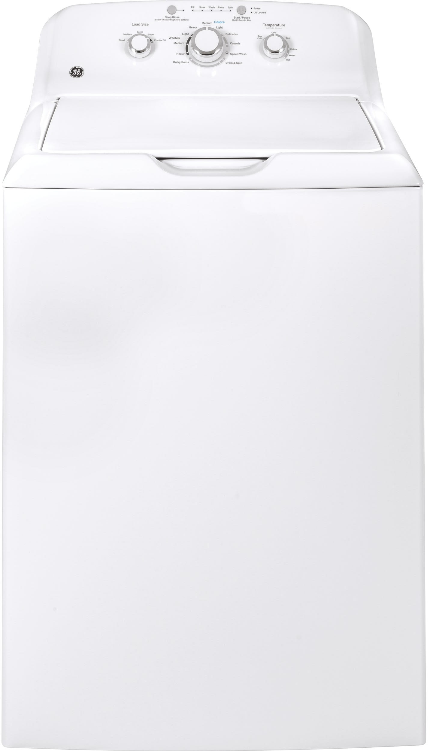 GE GTW335ASNWW 27 Inch 4 2 cu  ft  Top Load Washer with 11