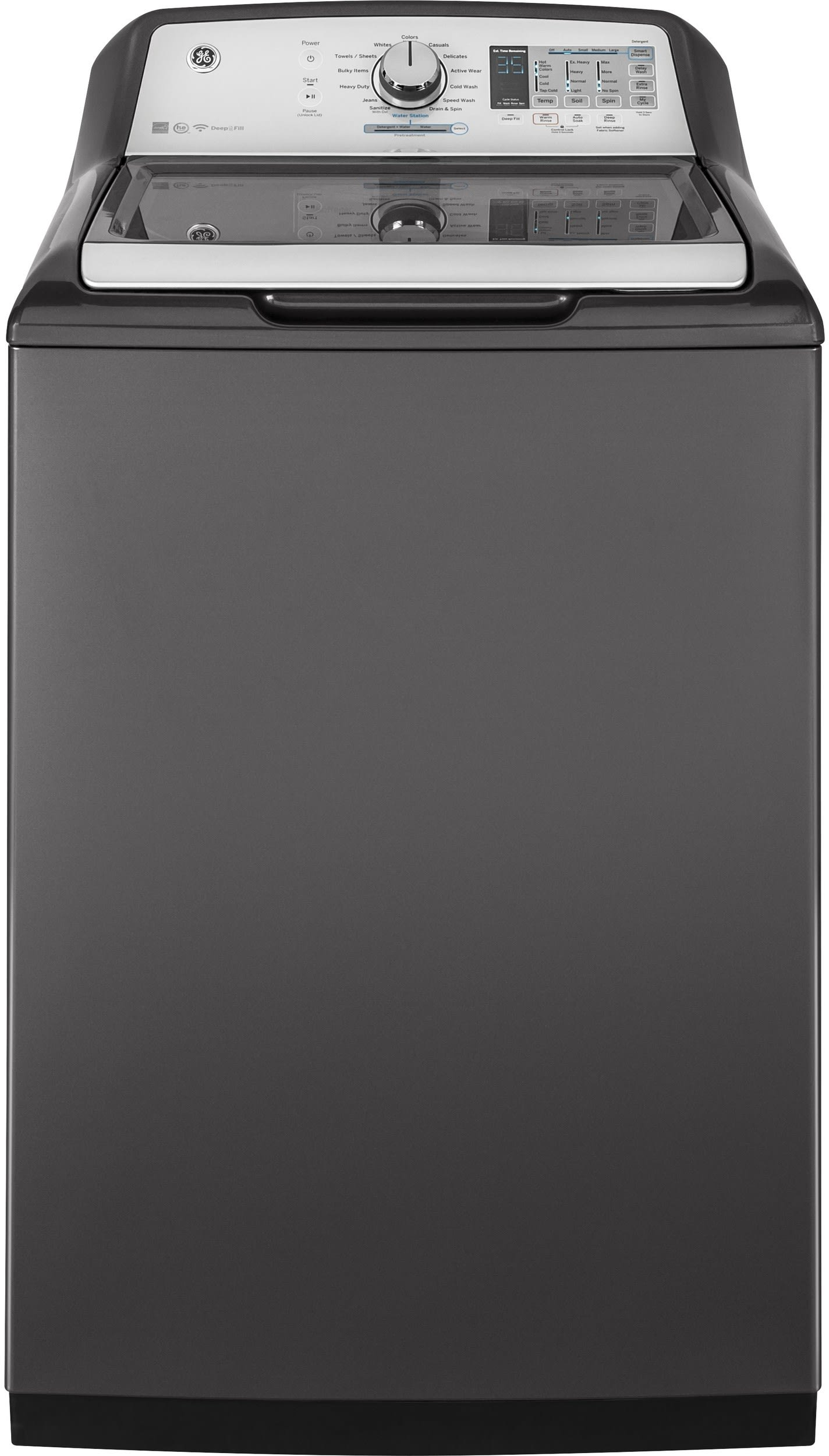 Ge Gtd75ecpldg 27 Inch Smart Electric Dryer With Wifi