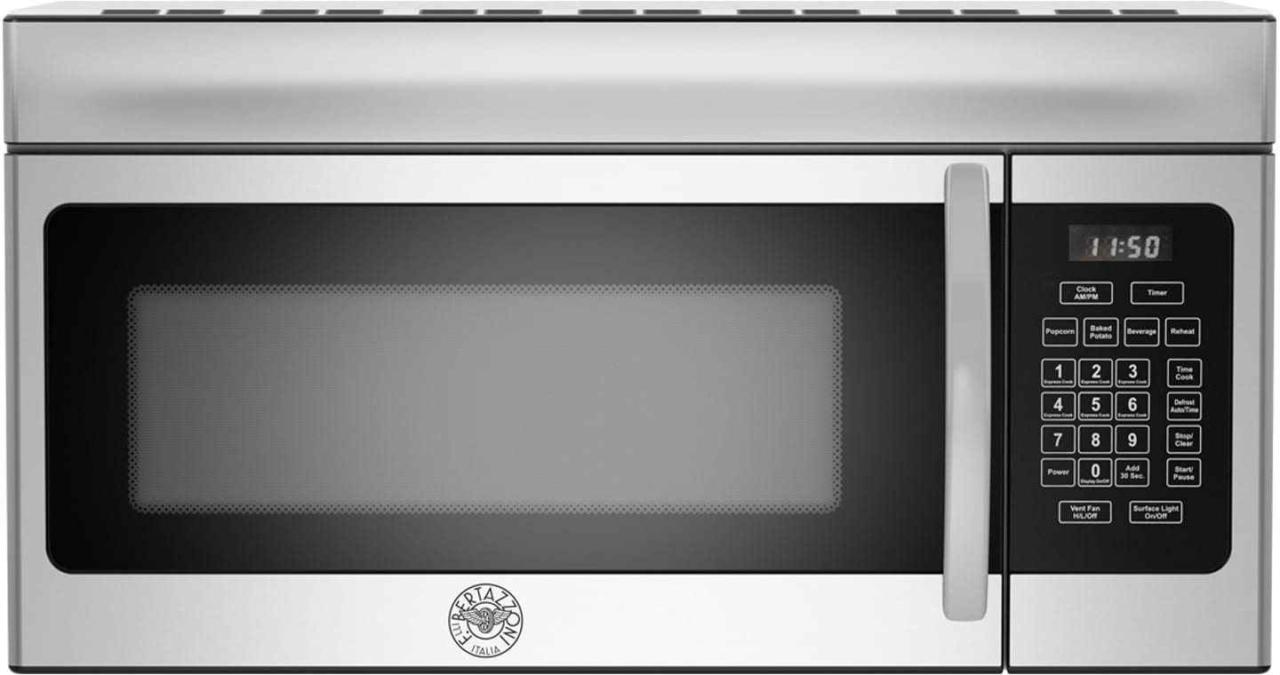 Bertazzoni pro304gasvi 30 inch pro style gas range with 3 6 cu ft convection oven 4 sealed - Red over the range microwave ...