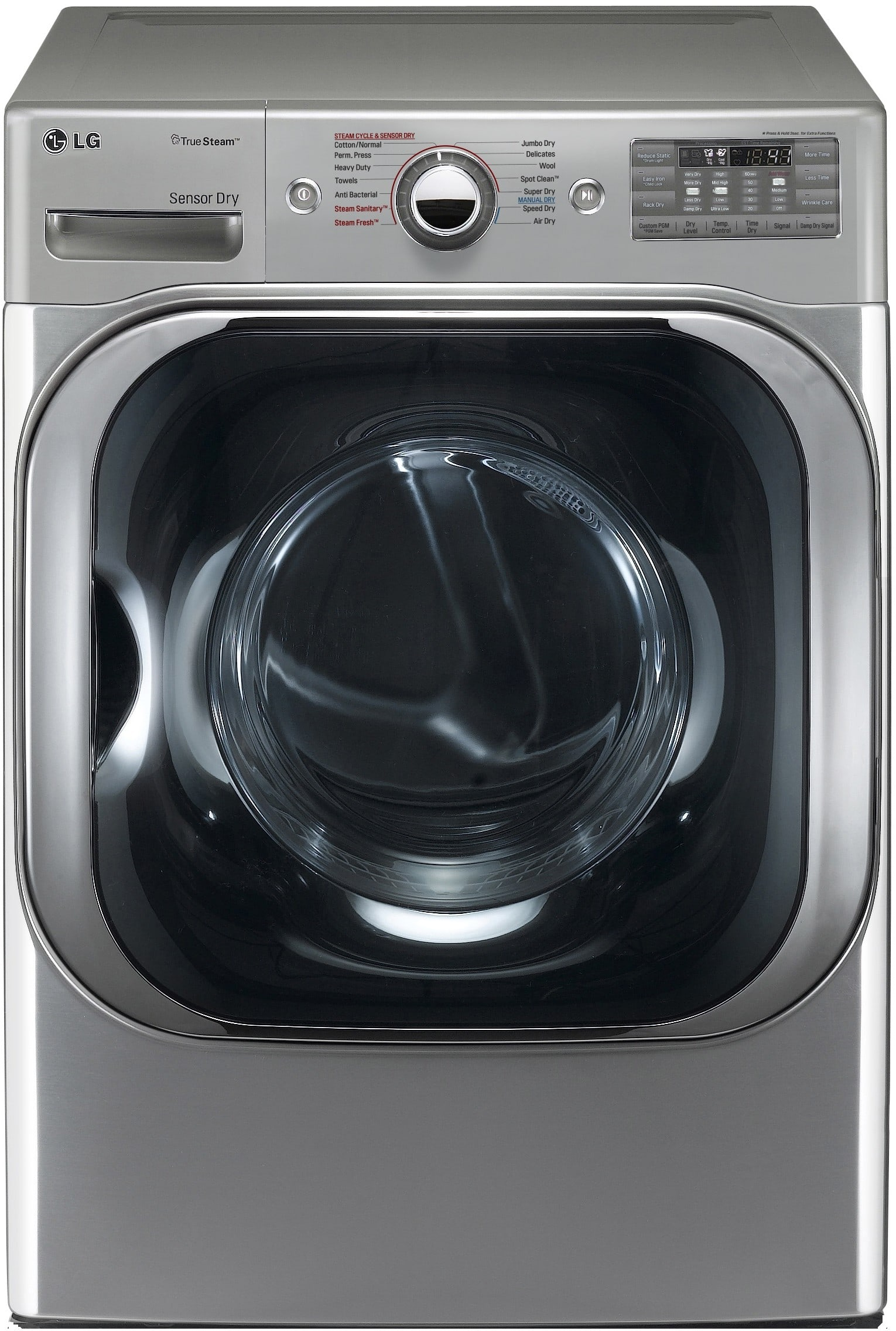 LG WM2688HNM 27 Inch TROMM Front-Load SteamWasher with 4 0 Cu  Ft