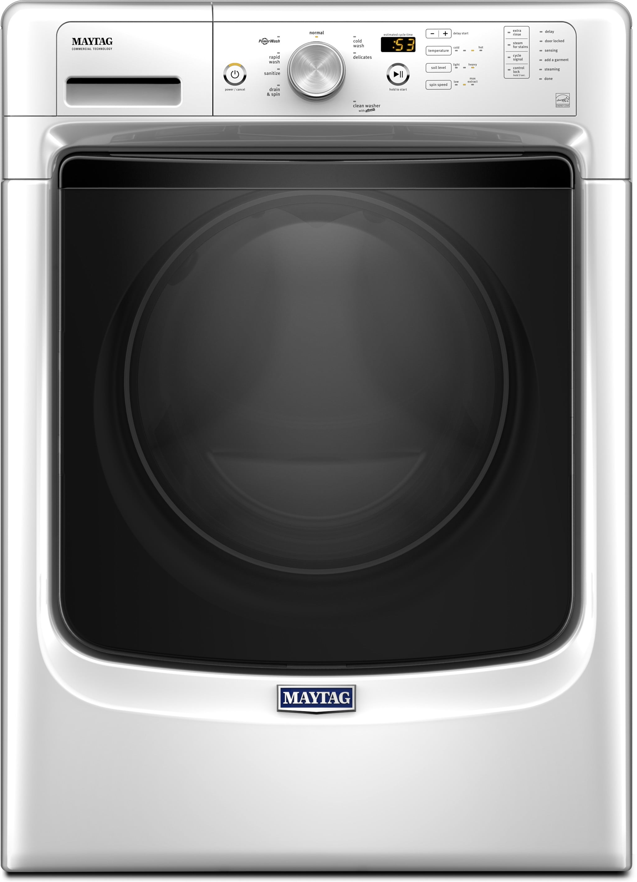 Maytag Med3500fw 27 Inch Electric Dryer With Power Dry