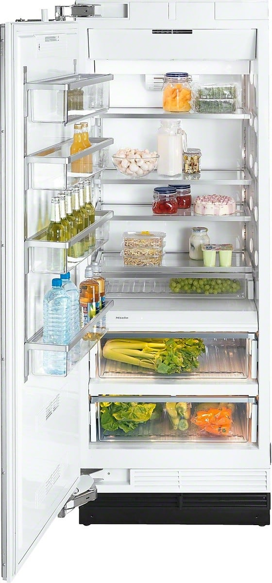 refrigerator kitchen cabinets miele f1803sf 30 inch built in freezer column with 1813