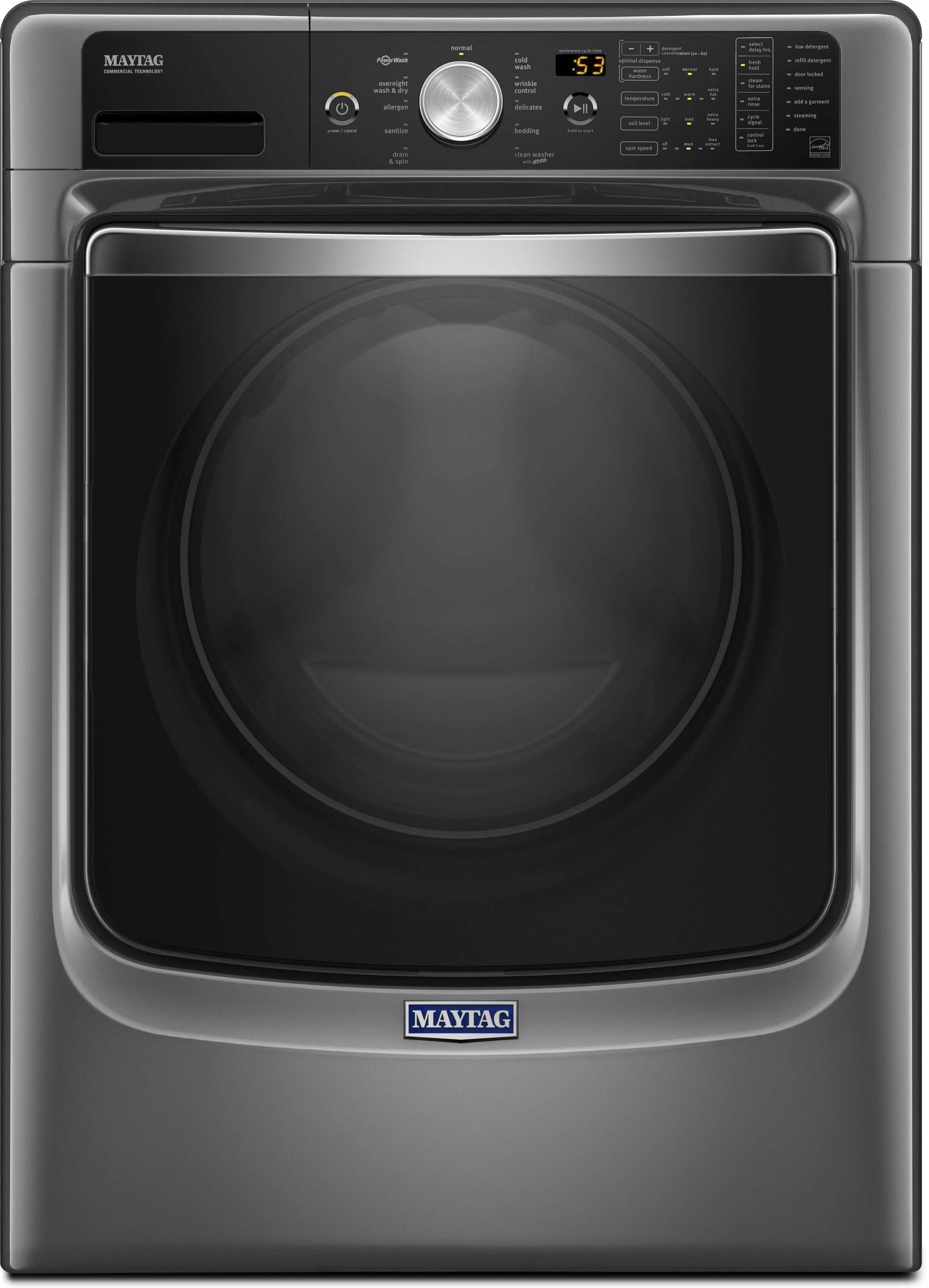 Maytag MED8200FC 27 Inch 7 4 cu ft Electric Dryer with Steam