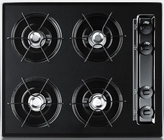 Summit TTM7212KW Kitchen Cooking Range Black