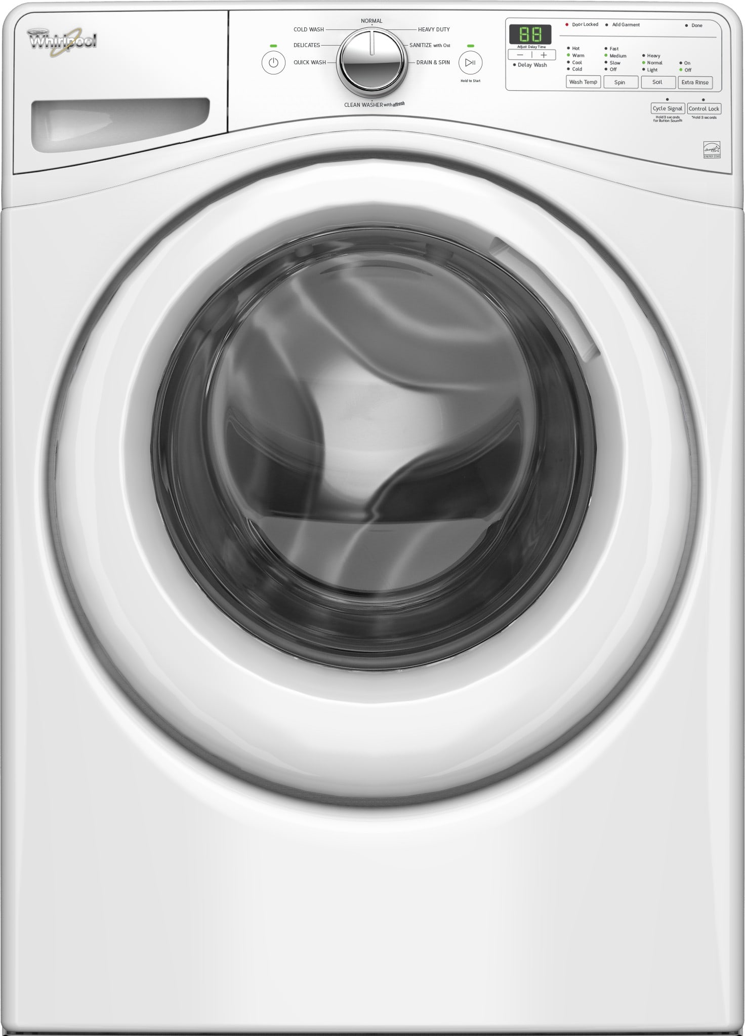 Whirlpool Wgd72hedw 27 Inch 7 4 Cu Ft Gas Dryer With 6