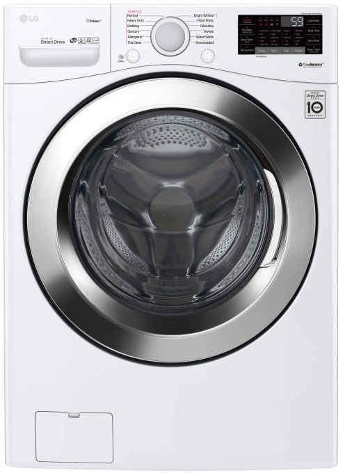 Lg Dlex2650w 27 Inch Electric Dryer With 7 3 Cu Ft