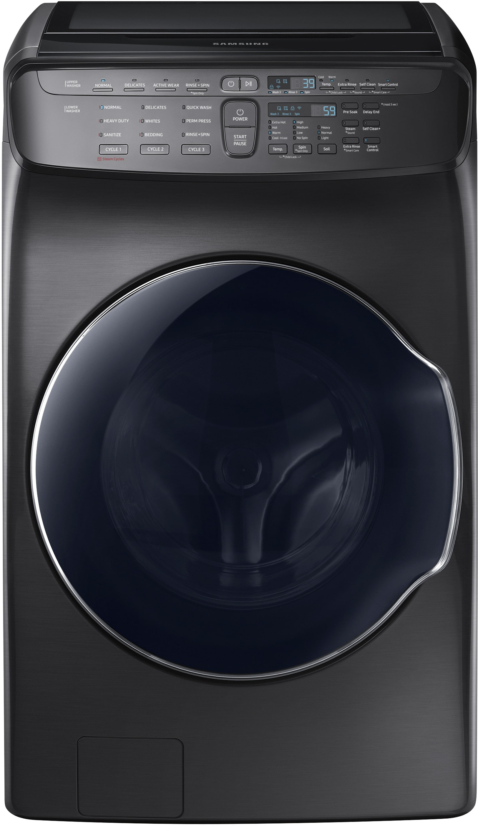 Samsung Dvg55m9600v 27 Inch Flexdry Gas Smart Dryer With
