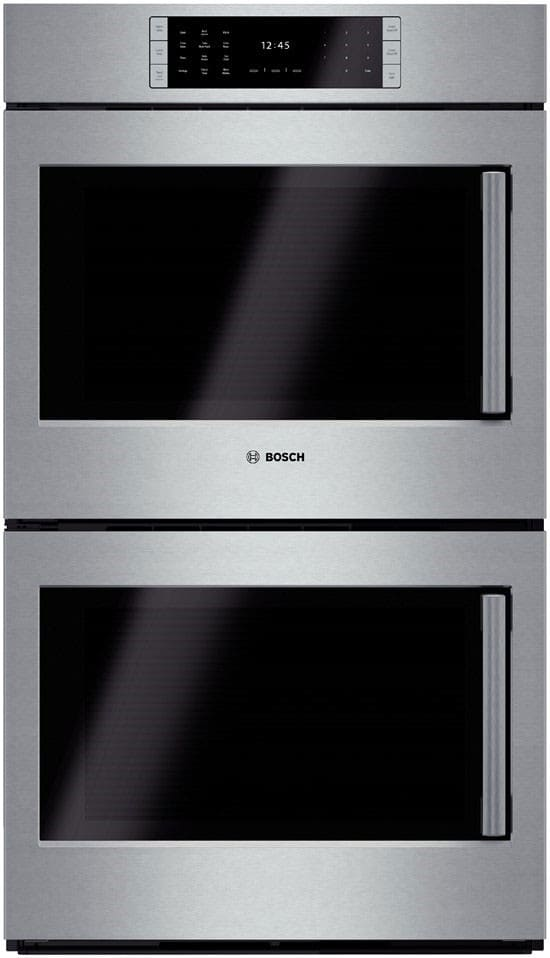 Bosch HBLP651LUC 30 Inch Double Electric Wall Oven with 46 cu ft