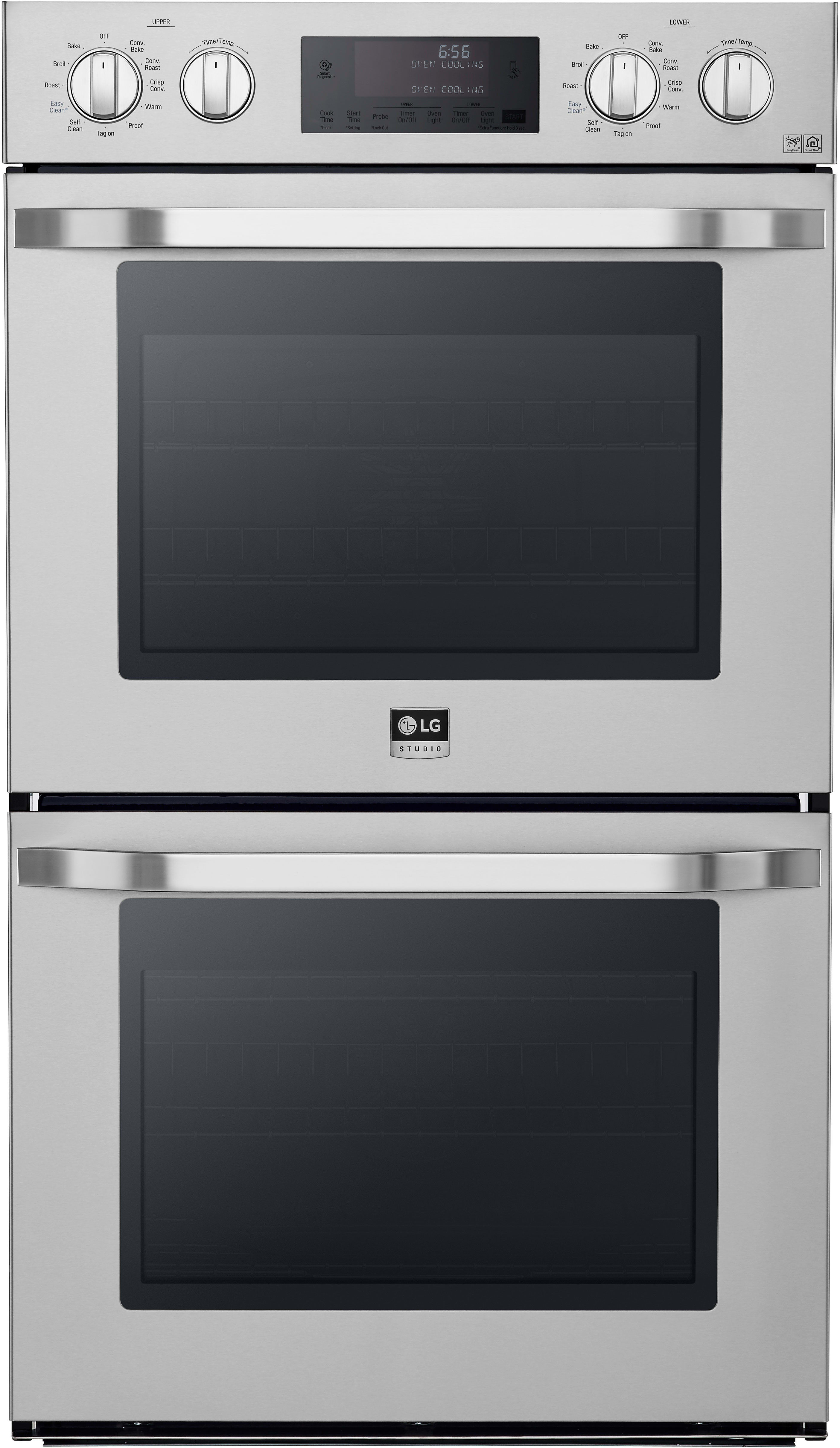 LG LSWD306ST 30 Inch Double Electric Wall Oven with Convectionc